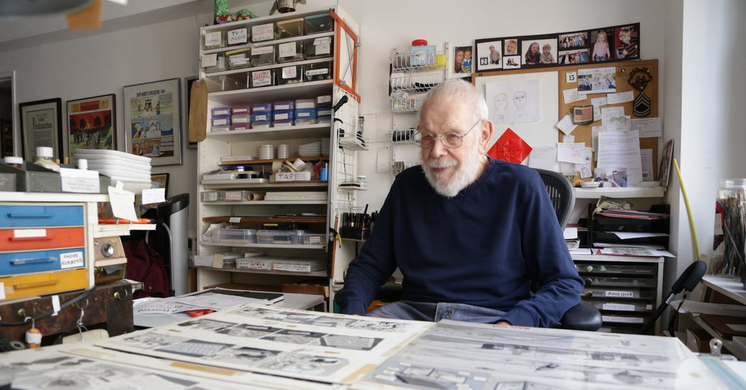 At 99, Al Jaffee Says Goodbye to Mad Magazine